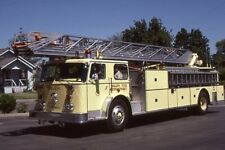 Salem OR 1976 Seagrave 100' Aerial Ladder - Fire Apparatus Slide