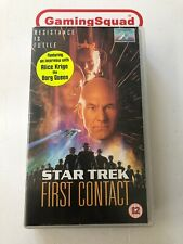 Star Trek First Contact VHS Video Retro, Supplied by Gaming Squad