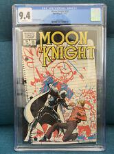 Moon Knight #26 CGC 9.4 1982 Marvel: Sienkiewicz Art/ Cover