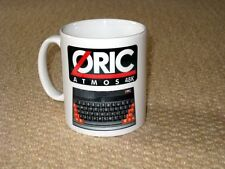 Oric Atmos Early Home Computer enthusiast Work Place MUG