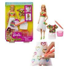 bambola barbie crayola personaggio playset gioco per bambine 3 4 anni