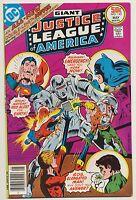 Giant DC JUSTICE LEAGUE OF AMERICA #142 JLA HIGH GRADE Superman Batman 1977