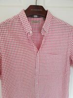 Mens chic BRIT by BURBERRY short sleeve size large. Immaculate RRP £175.