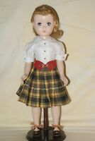 "Gorgeous! Vintage Tagged 18"" Madame Alexander Maggie Hard Plastic Walker Doll"