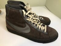 Nike Men's Blazer High Premium Tan Dark Brown Browns SB Size 11