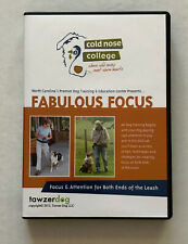 Fabulous Focus Cold Nose College Dog Training DVD's and Power Point Handout DVD
