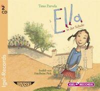 TIMO PARVELA - ELLA IN DER SCHULE 2 CD NEW