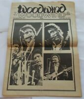 Woodwind V5#8 January 29, 1974 Newspaper Bob Dylan Cover Art Music Reviews