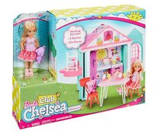 Barbie Club Chelsea Clubhouse Fun House New with Doll