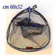 testa guadino rete silicone gommata universale pesca bolognese roubaisienne mare