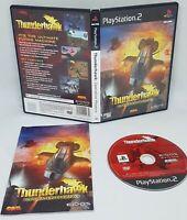 Thunderhawk Operation Phoenix Sony PlayStation 2 2001 Game + Manual VGC