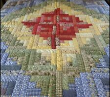 Rare Company Store Patchwork Cotton Quilt Full/ Queen Multicolor Vibrant