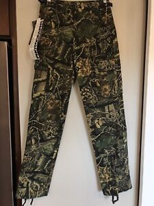 Cabela's Seclusion 3D Camouflage Hunting Cargo Pants Youth Boys Size 16
