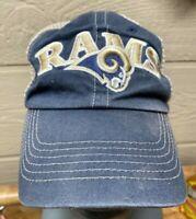 Vintage LA Los Angeles Rams Strapback, Truckers Cap Hat NFL Apparel