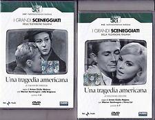 4 Dvd x 2 Box Sceneggiati Rai UNA TRAGEDIA AMERICANA con V.Lisi completa 1962