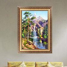 Waterfall Landscape 5D Diamond Painting Cross Stitch Embroidery DIY Craft