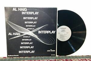 Al Haig – Interplay, LP 1976 - JAZZ Piano Legend, Seabreexe SB-1005 - NM Vinyl