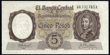 Argentinien / Argentina 5 Pesos (1960-62) Pick 275 (1)