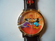 THE PRINCE AND THE PAUPER  MEN'S LEATHER WATCH LIMITED EDITION 2522/7500 NEW