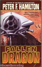 Fallen Dragon by Peter F. Hamilton (Warner Books paperback 2003)