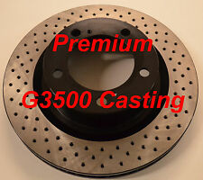 07-13 Tundra Sequoia Premium Performance Cross Drilled Rotors Front Pair