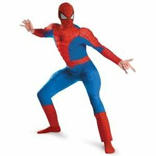 NEW Amazing Spiderman Deluxe Classic Muscle Halloween Costume XXL