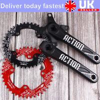 Crankset 30-52T 104BCD Crank 170mm Narrow Wide Teeth Chainring MTB Bike Sprocket