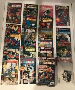 LOT OF 64 DEATHSTROKE VOL 1  #0,1-60 COMPLETE SET + ANNUALS (1991-1996) DC