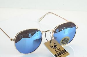 NEW GOLD METAL FRAME/COLORED ROUND LENS    711014*********
