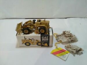 N Z G Construction CAT 920 Forend Loader No 112 First Time Out Of Box Mint!...