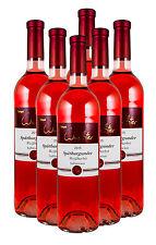 6 Fl. 2015 Spätburgunder Weißherbst halbtrocken Weingut Wachter Bronze prämiert