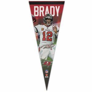 "TOM BRADY TAMPA BAY BUCCANEERS PREMIUM QUALITY PENNANT 12""X30"" BANNER NFL"
