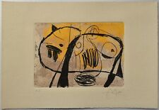 JOAN MIRÓ Etching hand signed