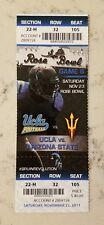 UCLA Bruins Arizona State Sun Devils Football Ticket 11/23 2013 Stub Rose Bowl