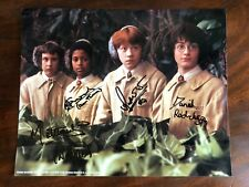 Harry Potter Cast Signed Photograph Chamber Of Secrets 2002 Film