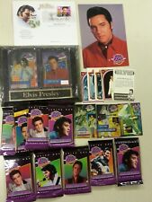 Elvis Presley Collectible Lot 120 cards,postcards,plate,Facts card,Promo inserts