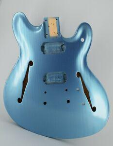 Guitar Body, Aged Nitro Finish, Pine, USA Made, SRC, Rosser Guitars, 2.14 lbs