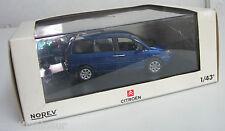 Norev 1/43 Citroën C8 bleu royal neuve en boite