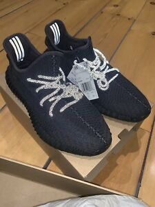 Adidas Yeezy Boost 350 V2 Black (non Reflective) Size 11 US - Brand New In Box