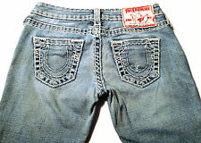 EUC - RRP $479 - Womens Stunning True Religion Brand 'JOHNNY SUPER T' Jeans