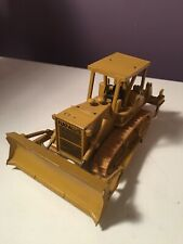 Fiat Allis Toy Bulldozer By Gescha Made In W Germany Die Cast Model