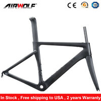 T1000 Carbon Road Bike Frame 700C Bicycle Frameset 48 51 54 56cm BSA V Brake
