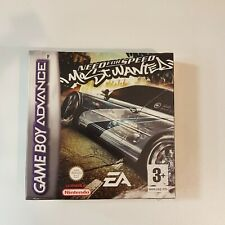 Need For Speed most Wanted GBA neuf