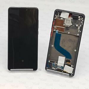 Original Xiaomi Mi 9T Display Glas LCD Touch Screen mit Rahmen Schwarz Black
