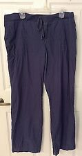 Merona Blue 100% Cotton Cords Lounge Full Length Women's Pant JR XXL