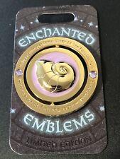 Ursula Little Mermaid Enchanted Emblems Spinner Disney Parks Pin Month LE 3000