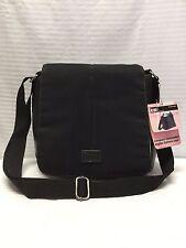 NWT Black Nylon Camcorder, Digital Camera Shoulder Bag, Purse, Bag