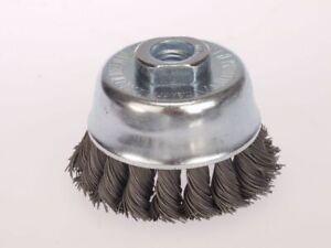 Cepillo de Copa D 65 X M14 X 0,8 Alambre Acero Trenzado Cepillo Para Amoladora