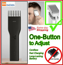 Electric Rechargeable Cordless Hair Clippers Men Haircut Barber Trimmer Cutter