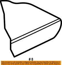 FORD OEM Explorer Sport Trac Rear Seat-Foam Cushion Pad Right 3L2Z7863840CB